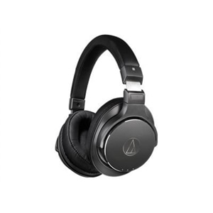 Audio-Technica ATH-DSR7BT - Headphones with mic - full size - Bluetooth - wireless