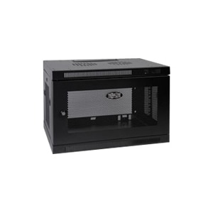 9u Wall Mount Rack Enclosure Cabinet W Door And Side