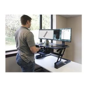 Ergotech Freedom Desk Fdm Desk B 42 Standing Desk Converter