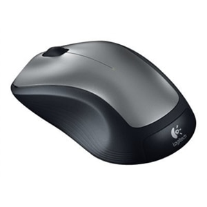 Logitech M310 - Mouse - right and left-handed - laser - 3 buttons - wireless - 2.4 GHz - USB wireless receiver - black