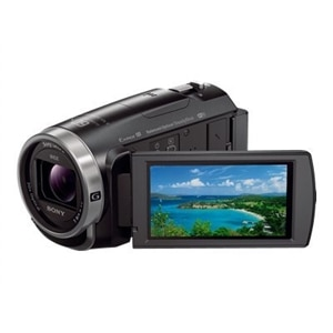 Sony Handycam HDR-CX675 - camcorder - storage: flash card