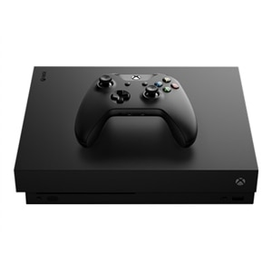 Microsoft Xbox One X - Game console - 4K - HDR - 1 TB HDD - black - Star Wars Jedi: Fallen Order, Star Ward Knights of the Old Republic, Star Ward Knights of the Old Republic: The Sith Lords