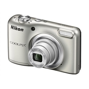 Nikon Coolpix A10 - Digital camera - compact - 16.1 MP - 720p / 30 fps - 5x optical zoom - silver