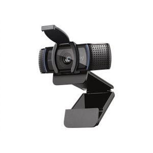 Logitech HD Pro C920 Web Cam 1080p Black New w//o Box