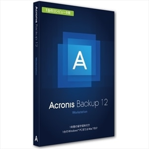 acronis backup 12 workstation license 1 computer incl aas box